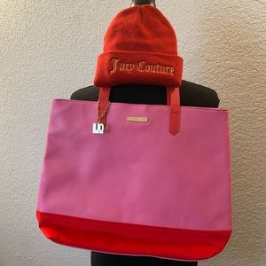 Juicy Couture Yes Qui Can Cap and Bag